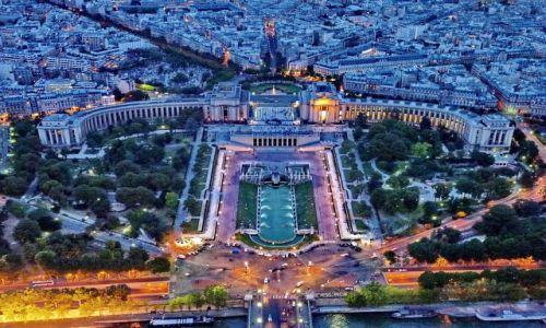 Zdjęcie FRANCJA / ile de France / Paryż / Trocadero z wieży