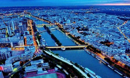 Zdjęcie FRANCJA / ile de France / Paryż / Loara z wieży