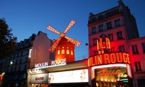 Zdjęcie FRANCJA / Île-de-France / Paryż / Moulin Rouge