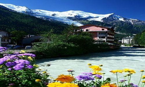 Zdjecie FRANCJA / Alpy / Chamonix / Francja Elegancja