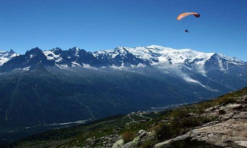 Zdjęcie FRANCJA / Alpy / Chamonix / Lot nad Mont Blanc
