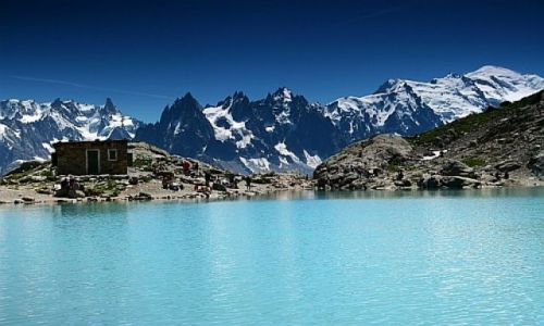 Zdjecie FRANCJA / Alpy / Chamonix / Lac Blanc
