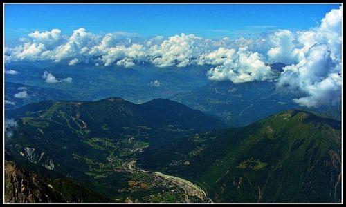 Zdjęcie FRANCJA / - / Chamonix / Z góry