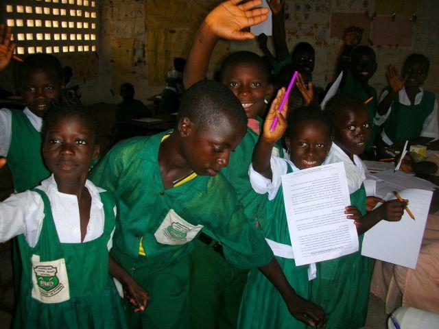 Zdjęcia: szkola, uczniowie szkoly, GAMBIA