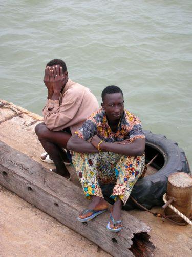 Zdjęcia: ALBREDA/JUFFUREH, mieszkancy wioski, GAMBIA
