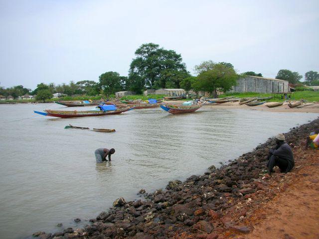 Zdjęcia: ALBREDA/JUFFUREH, srodki transportu mieszkancow wioski, GAMBIA