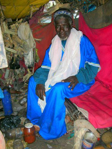 Zdjęcia: W BUSZU U SZAMANA, SZAMAN, GAMBIA