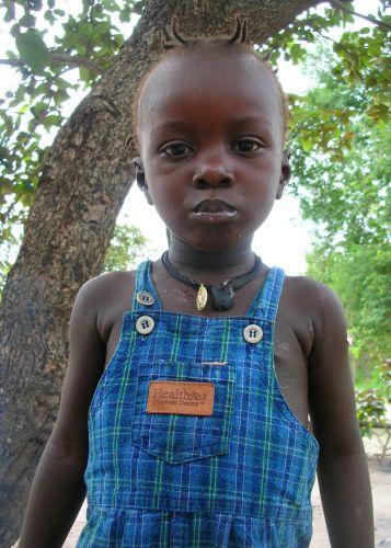 Zdjęcia: wioska, dziecko, GAMBIA