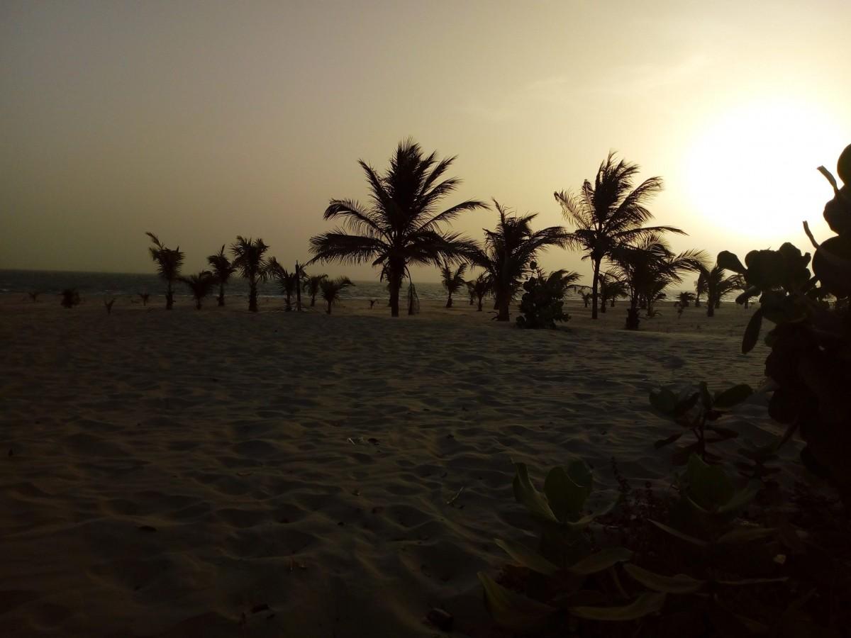 Zdjęcia: Bandzul, Bandzul, wchod Slonca, GAMBIA
