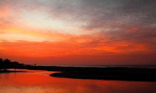 Zdjęcie GAMBIA / - / nad oceanem / zachód słońca