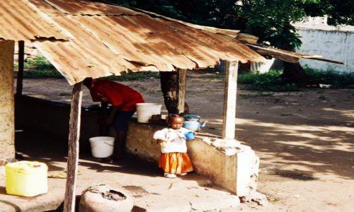 Zdjęcie GAMBIA /   / Banjul / Mała Gambijka