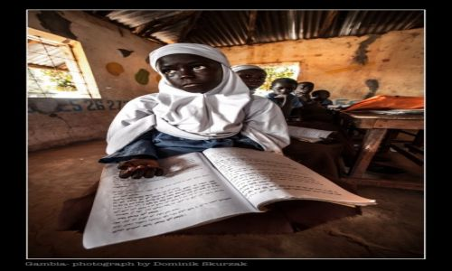 GAMBIA / Banjul / Makumbaya / EDUCATION IN GAMBIA