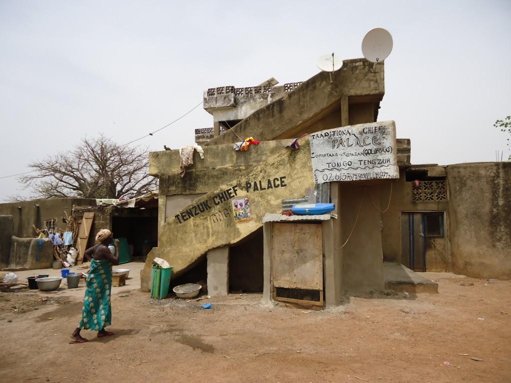 Zdjęcia: Tengzuk, Upper East, Pałac szefa wioski, GHANA