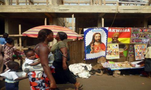 Zdjęcie GHANA / Ashanti / Kumasi / Ghana - Ulica Kumasi