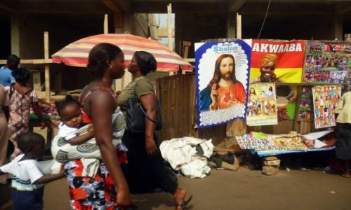 """Zdjecie GHANA / Ashanti / Kumasi / KONKURS - Kobieta w obiektywie podróżnika"""""""