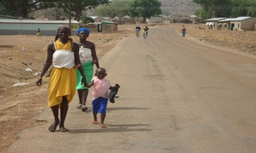 Zdjęcie GHANA / Upper East / okolice Tongo / W drodze do Tengzuk (2)