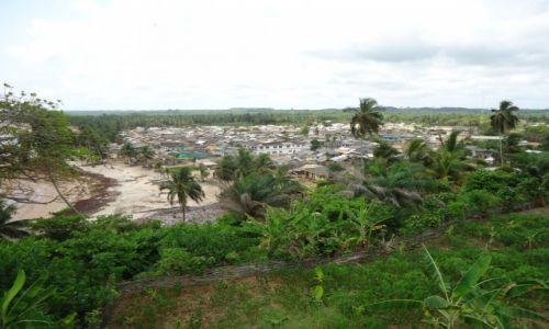 Zdjęcie GHANA / Western Region / Princes Town / Panorama Princes Town