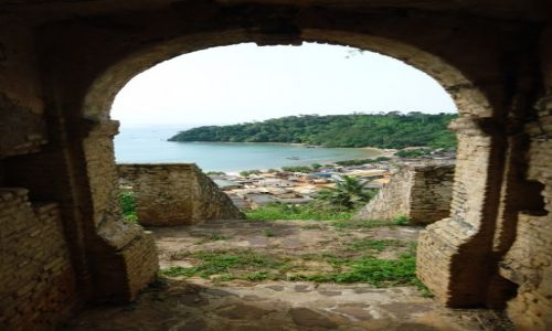 GHANA / Western Region / Butre / Panorama Butre