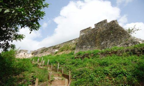 Zdjęcie GHANA / Western Region / Butre / Fort Batenstein (3)