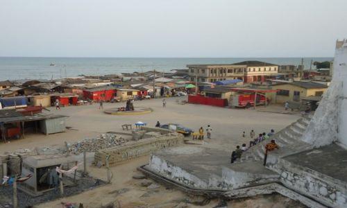 Zdjęcie GHANA / Western Region / Shama / Shama z murów fortu