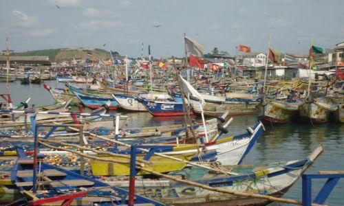 Zdjęcie GHANA / Central Region / Elmina / Port
