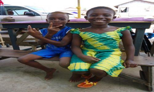 Zdjęcie GHANA / Central Region / Elmina / Dzieci w Elminie