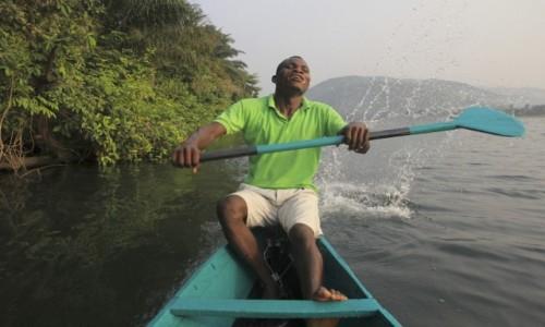 Zdjecie GHANA / Volta / Volta / Na rzece Volta