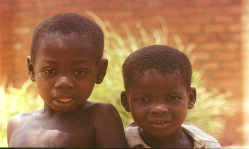 GHANA / wschodni / wioska / Dzieci Afryki