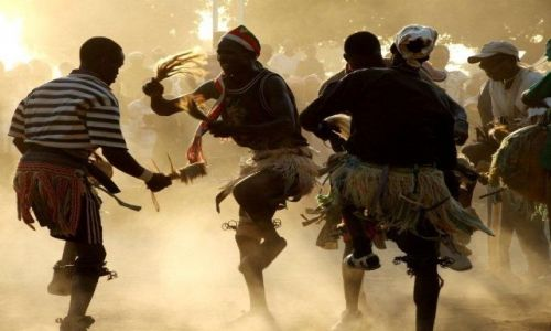 Zdjecie GHANA / Bolgatanga / Kansingo / Festiwal w Kansingo