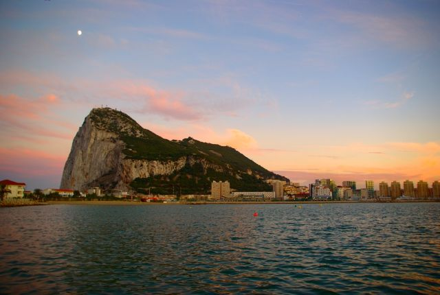Zdjęcia: Gibraltar, -Gibraltar, Gibraltar wieczorem, GIBRALTAR