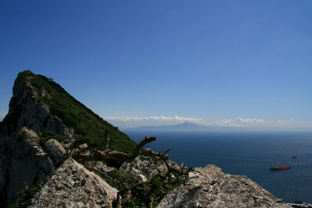 Zdjęcia: Skała Gibraltarska, Cieśnina Gibraltarska, GIBRALTAR