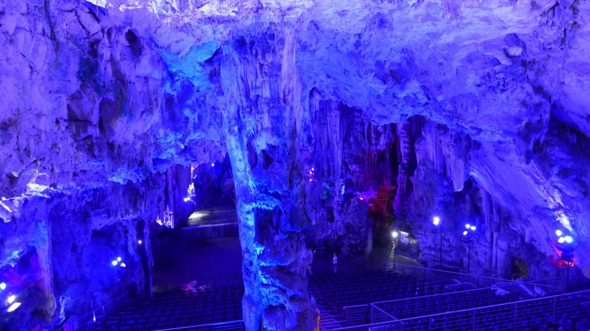 Zdjęcia: Jaskinia Świętego Michała, Gibraltar, Jaskinia krasowa, GIBRALTAR