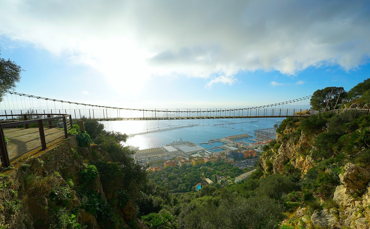 Zdjęcia: ., Skała Gibraltarska , Windsor Bridge, GIBRALTAR
