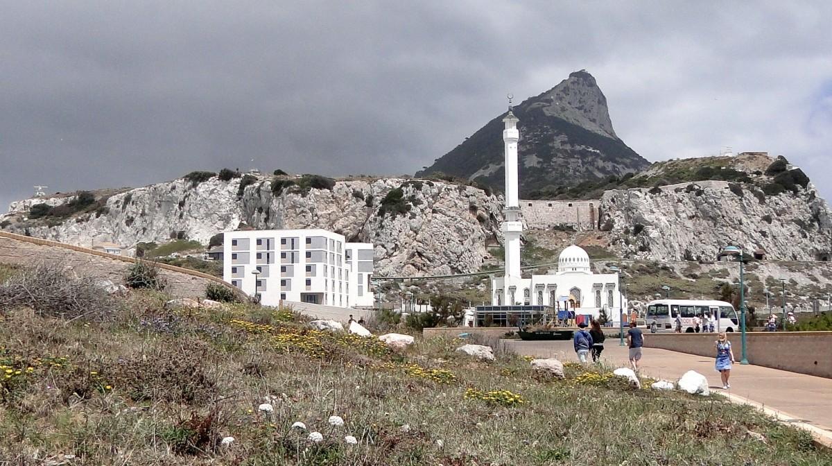 Zdjęcia: Gibraltar,  , Z widokiem na Skałę Gibraltarską, GIBRALTAR