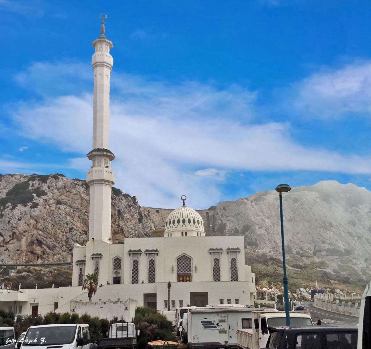 Zdjęcia: Brytyjskie terytorium zamorskie., Półwysep Iberyjski., Gibraltar - Meczet  Ibrahim - al - Ibrahim., GIBRALTAR