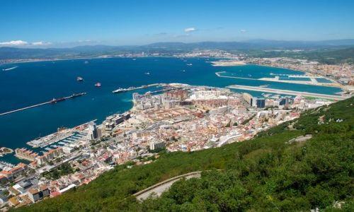 Zdjecie GIBRALTAR / Gibraltar / Gibraltar / Widok na Gibraltar