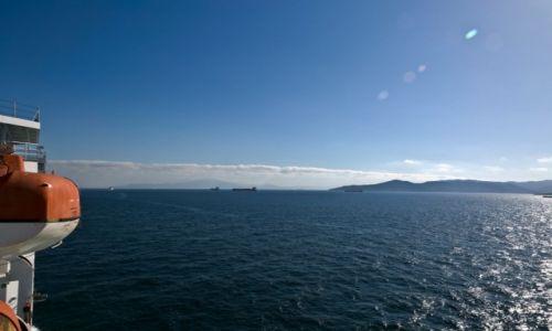 Zdjęcie GIBRALTAR / - / Cieśnina Gibraltarska / Przeprawa promowa