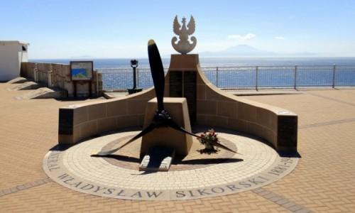 Zdjecie GIBRALTAR / Gibraltar / Europa Point / Memoriał Sikorskiego