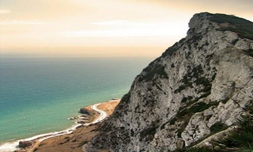 Zdjecie GIBRALTAR / Gibraltar / Gibraltar / A za rogiem ocean