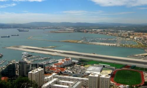 Zdjecie GIBRALTAR / Gibraltar / Gibraltar / Lotnisko dla odważych