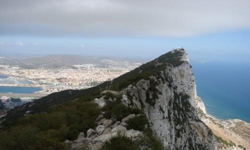 Zdjęcie GIBRALTAR / Gibraltar / Skała Gibraltarska / Hiszpania-Gibraltar-Portugalia