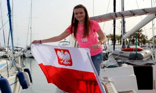 GIBRALTAR / Ocean Atlantydzki  / Cieśnina Gibraltar  / Polska Bandera 1