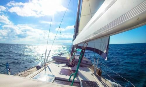 GIBRALTAR / Gibraltar / Cieśnina Gibraltar  / Ocean 1 jacht