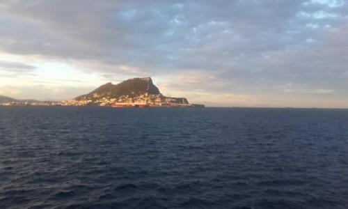 Zdjecie GIBRALTAR / Gibraltar / Gibralrar / Gibraltar widok z ze strony Afryki
