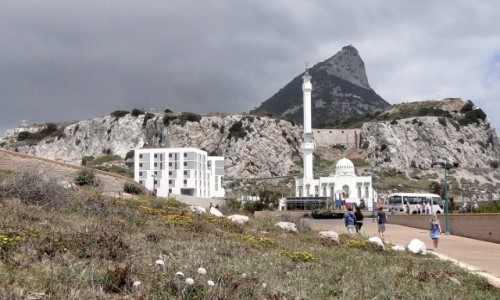 Zdjecie GIBRALTAR /   / Gibraltar / Z widokiem na Skałę Gibraltarską