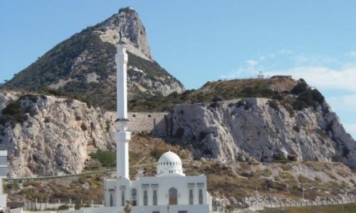 Zdjęcie GIBRALTAR / - / Skała Gibraltarska / Krajobraz