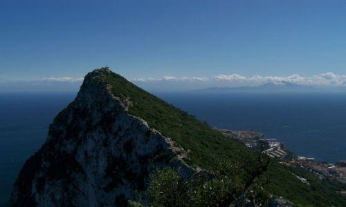 Zdjęcie GIBRALTAR / pd. Półwyspu Iberyjskiego / Gibraltar / Rock of Gibraltar