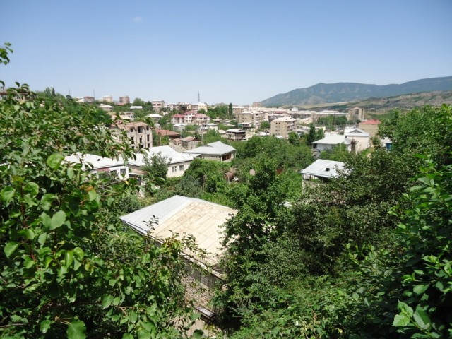 Zdjęcia: Stepanakert, Stepanakert, Panorama Stepanakertu, GÓRSKI KARABACH