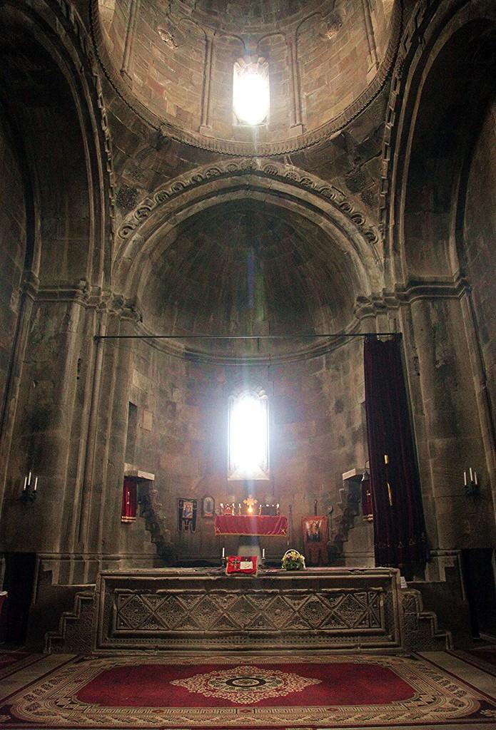 Zdjęcia: Wank, Martakert, Klasztor Gandzasar, wnętrze, GÓRSKI KARABACH