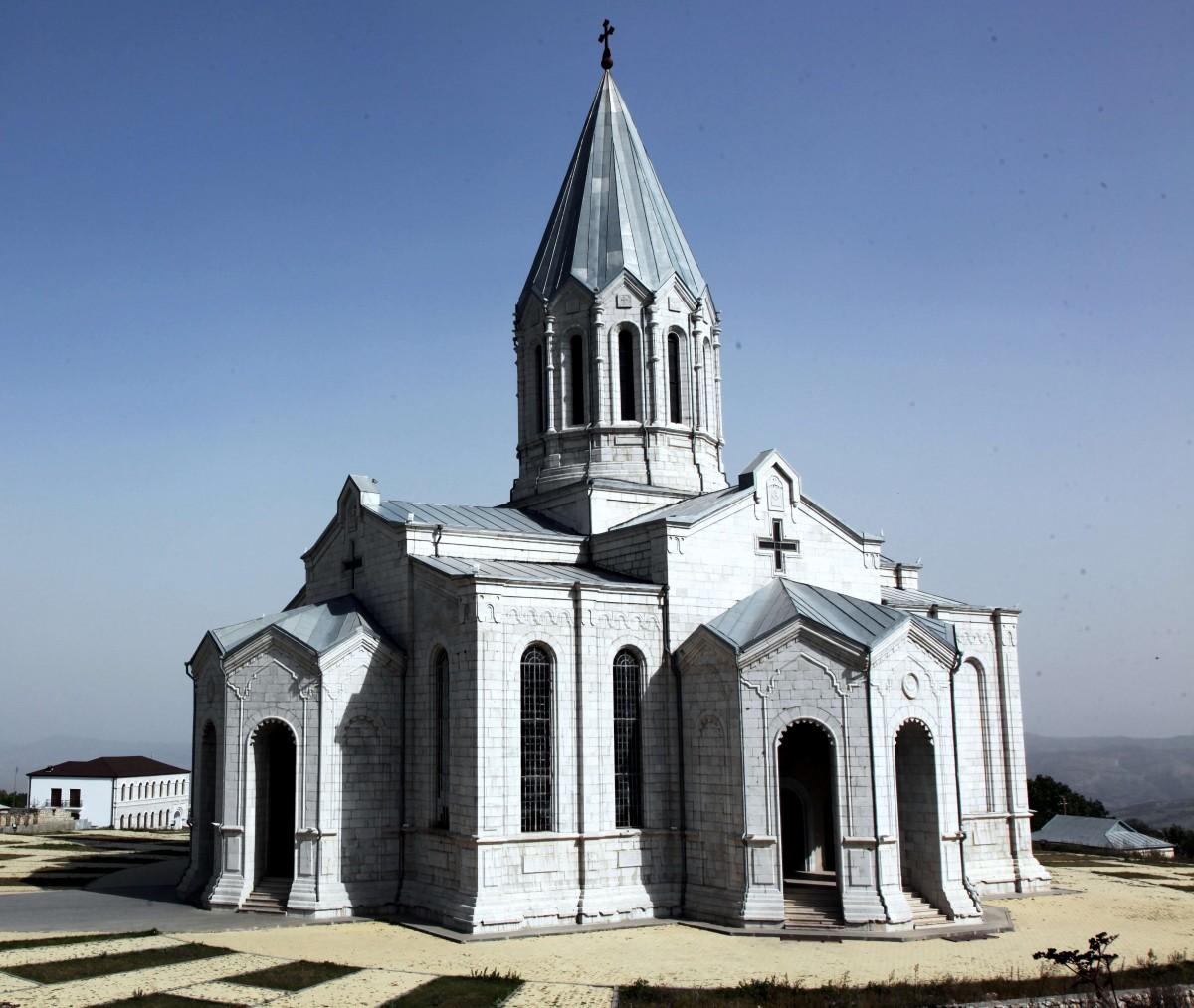 Zdjęcia: Szuszi ,  Region Szuszi , Katedra Ghazanchetsots, GÓRSKI KARABACH